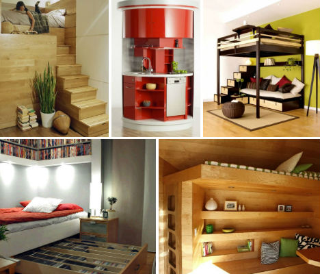 Ultra-Compact Interior Designs: 14 Small-Space Solutions ...