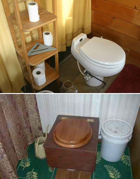Off Grid Composting Toilets