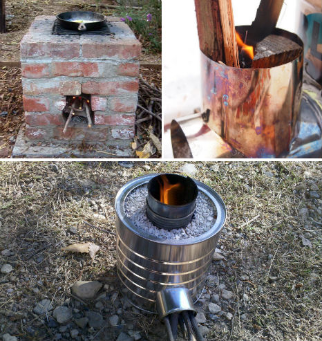 Off Grid Rocket Stove