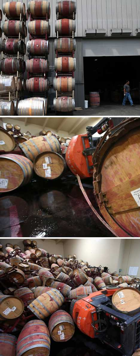 Shaken & Stirred: When Earthquakes Wrack Wineries