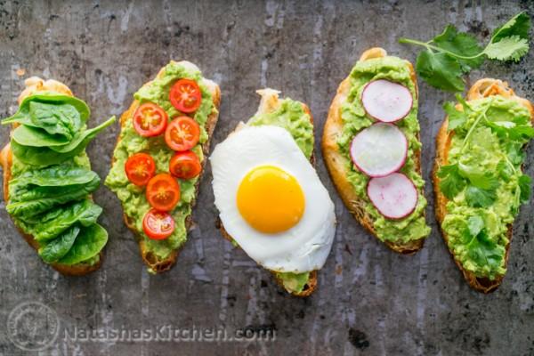 healthy swaps avocado sandwich