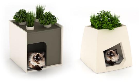 modern planters pet house 1
