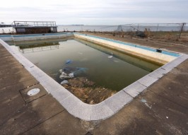 The World's Loneliest Abandoned Swimming Pool