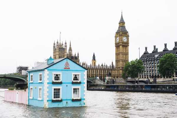 Airbnb's Floating House Does London By Thames