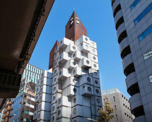 Nakagin Capsule Tower Airbnb 1