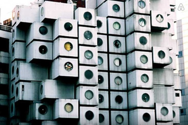 Nakagin Capsule Tower Airbnb 12