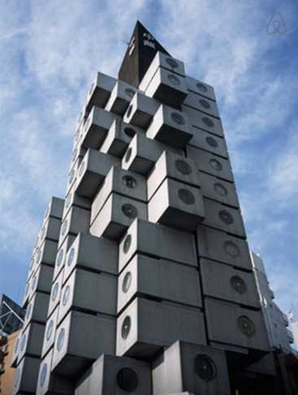 Nakagin Capsule Tower Airbnb 13