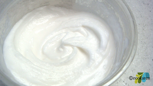 baking soda scrub