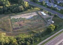 Van Grow: Artist Plants Crop Art Masterpiece