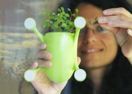Stick It! Innovative Livi Suction Cup Planter