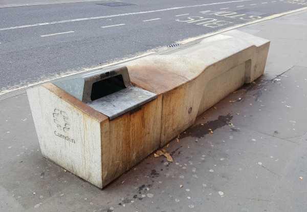 Bum's Rush: Cruel Concrete Camden Benches
