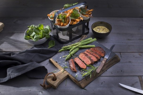 Green Meat: Plant-Based Steaks Go To Market