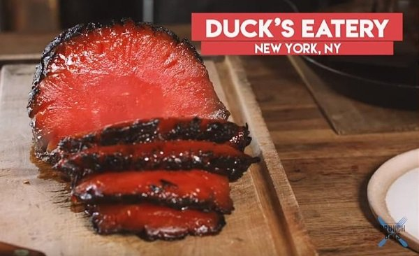 Rare Fare: Smoked Watermelon 'Ham' Is Bloody Good