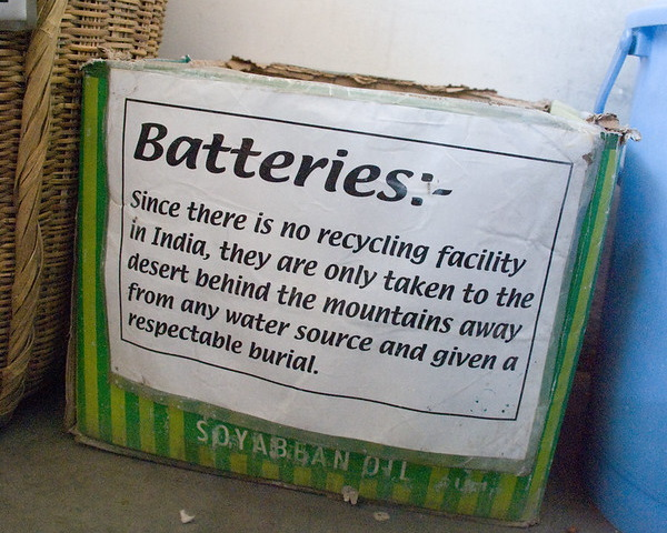 Power Fill: 10 International Battery Recycling Bins