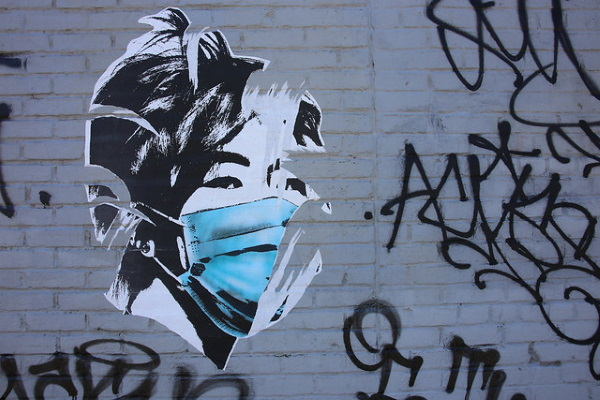Taped Masking: 10 Face Mask Stencils, Stickers & Graffiti