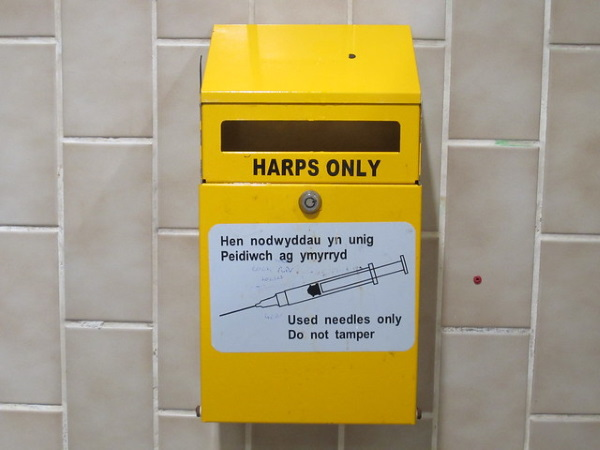 Needless Needles: 10 International Syringe Disposal Boxes